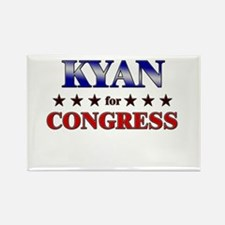 KYAN for congress Rectangle Magnet