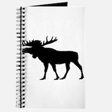 Moose Silhouette Journal