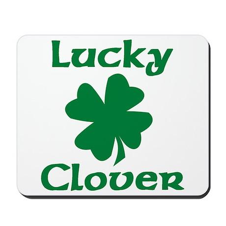 Lucky Clover Mousepad