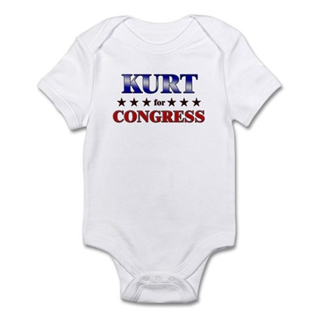 KURT for congress Infant Bodysuit