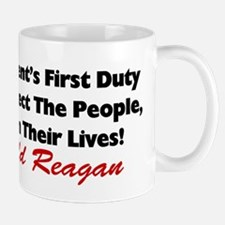 """Protect The People"" Mug"