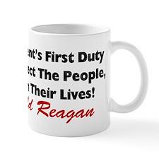 """""""Protect The People"""" Mug"""
