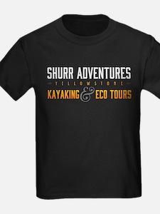 4 DARK SHIRTS Basic Logo Yellowstone T-Shirt