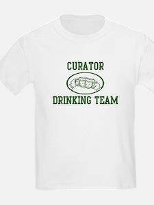 Curator Drinking Team T-Shirt