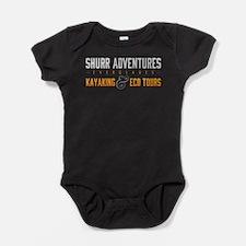 4 DARK SHIRTS Basic Logo Everglades Baby Bodysuit