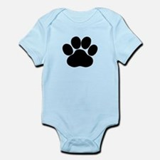 Black Dog Paw Body Suit