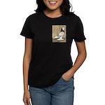 WOE Brown Bar Bald Women's Dark T-Shirt
