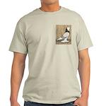 WOE Brown Bar Bald Light T-Shirt