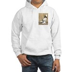 WOE Brown Bar Bald Hooded Sweatshirt