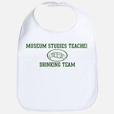 Museum Studies Teacher Drinki Bib