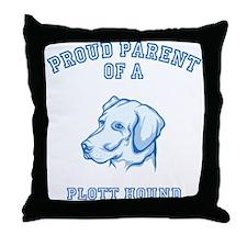 Plott Hound Throw Pillow