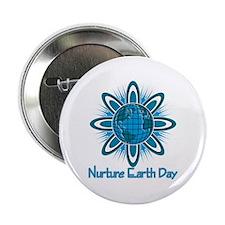 """Nurture Earth Day 2.25"""" Button"""
