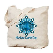 Nurture Earth Day Tote Bag