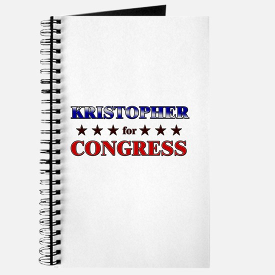KRISTOPHER for congress Journal