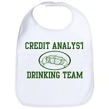 Credit Analyst Drinking Team Bib