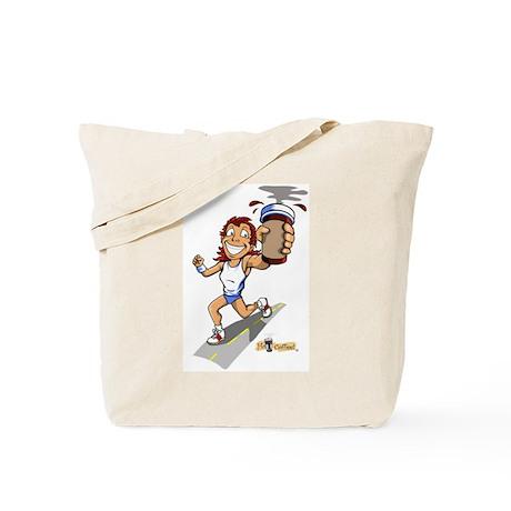 Runner (Female) Tote Bag