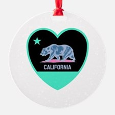 Cute California golden bears Ornament