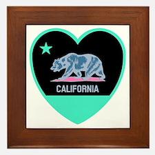 Cute California golden bears Framed Tile