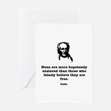 Goethe Slavery Greeting Cards (Pk of 10)