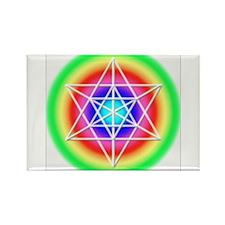 Star TetraHedron Rectangle Magnet