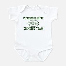 Cosmetologist Drinking Team Infant Bodysuit