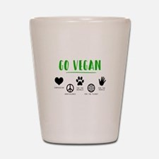 Vegan Food Healthy Shot Glass