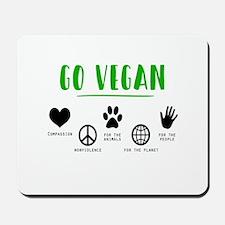 Vegan Food Healthy Mousepad