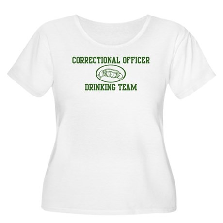 Correctional Officer Drinking Women's Plus Size Sc