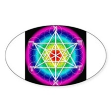 Star TetraHedron With Angelic Oval Decal