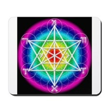 Star TetraHedron With Angelic Mousepad