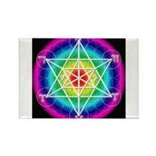 Star TetraHedron With Angelic Rectangle Magnet
