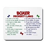 Boxer dogs Classic Mousepad