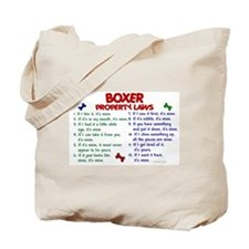 Boxer Property Laws 2 Tote Bag