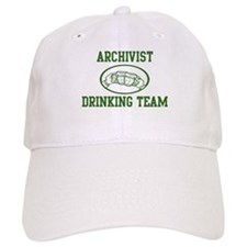 Archivist Drinking Team Baseball Cap
