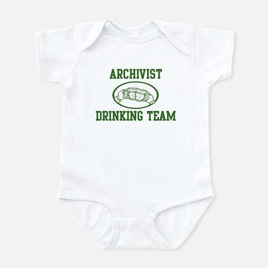 Archivist Drinking Team Infant Bodysuit