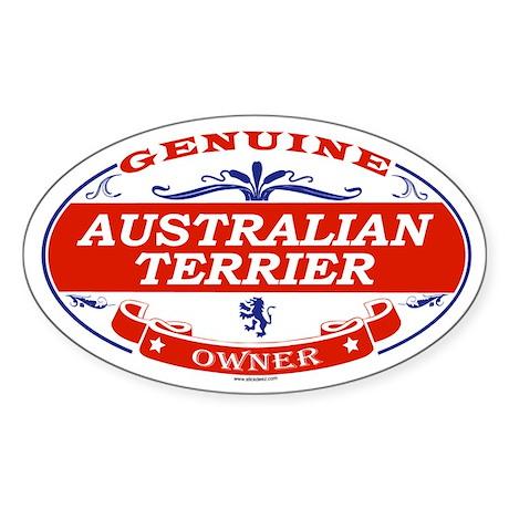 AUSTRALIAN TERRIER Oval Sticker