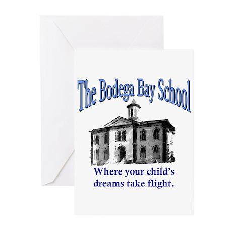 Bodega Bay School Greeting Cards (Pk of 20)