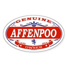 AFFENPOO Oval Decal