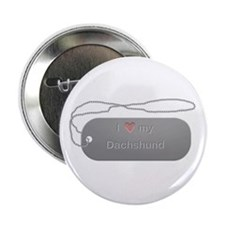 """Dogtag- Dachshund 2.25"""" Button (10 pack)"""