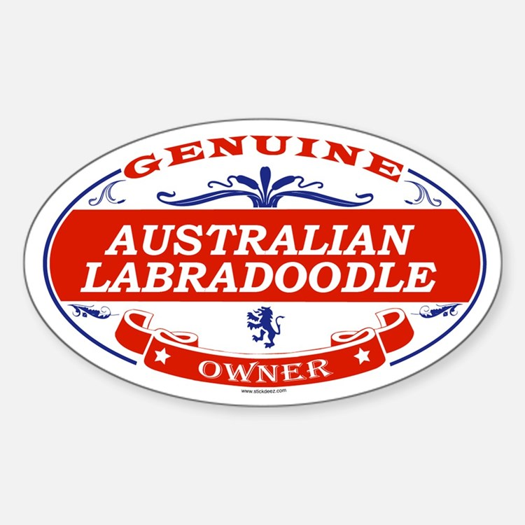 AUSTRALIAN LABRADOODLE Oval Decal