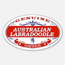 AUSTRALIAN LABRADOODLE Oval Stickers