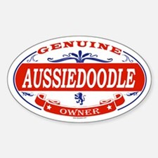 AUSSIEDOODLE Oval Decal