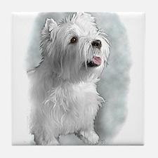 Westie Request Tile Coaster