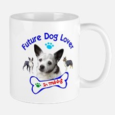 Future Dog Lover In Training Mugs