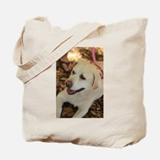 English lab in shade Tote Bag