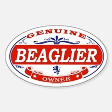 BEAGLIER Oval Decal