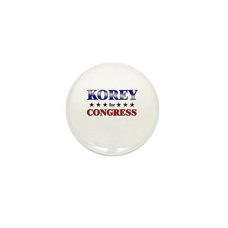 KOREY for congress Mini Button