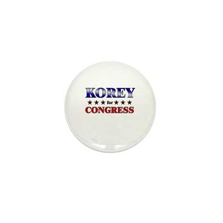 KOREY for congress Mini Button (10 pack)