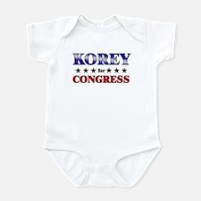 KOREY for congress Infant Bodysuit