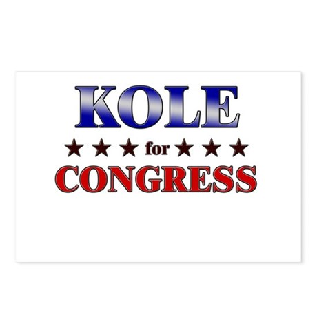 KOLE for congress Postcards (Package of 8)